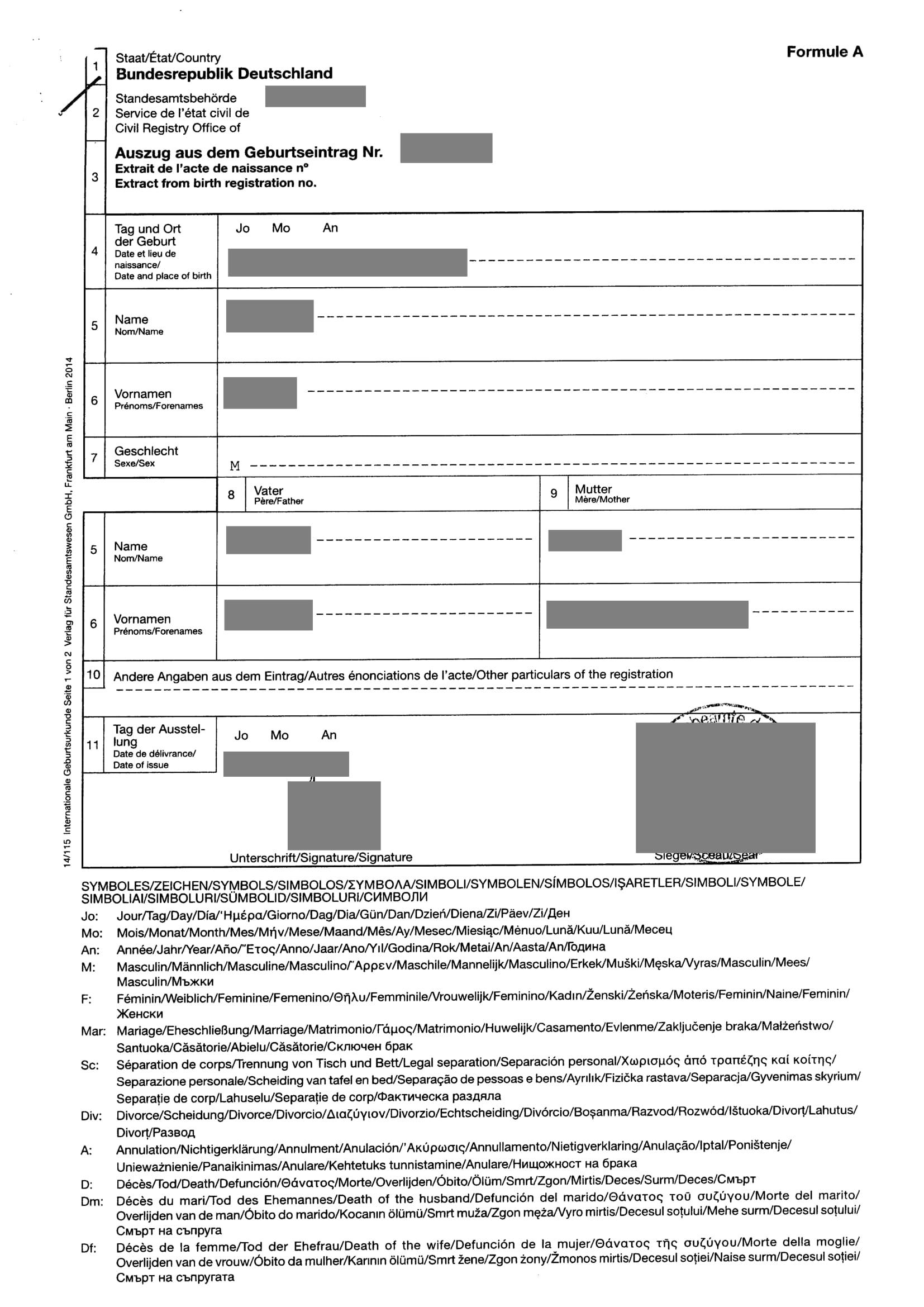 Geburtenregister dem auszug berlin aus documents.openideo.com